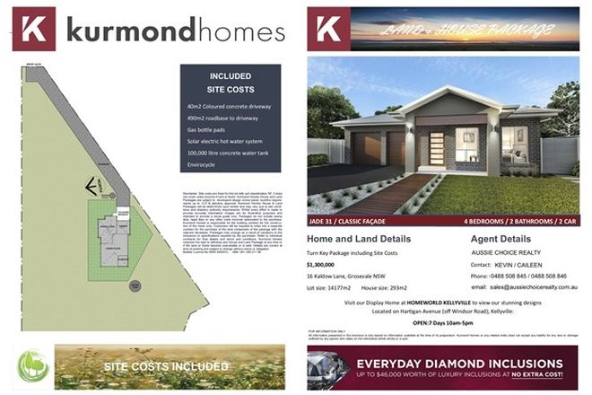 Picture of 16 KALDOW LANE, NORTH RICHMOND NSW 2754