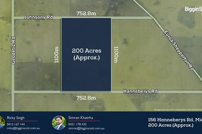 Picture of 156 Hanneberys Road, MIEPOLL VIC 3666