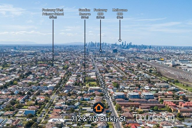 Picture of 712 & 714 Barkly  Street, WEST FOOTSCRAY VIC 3012