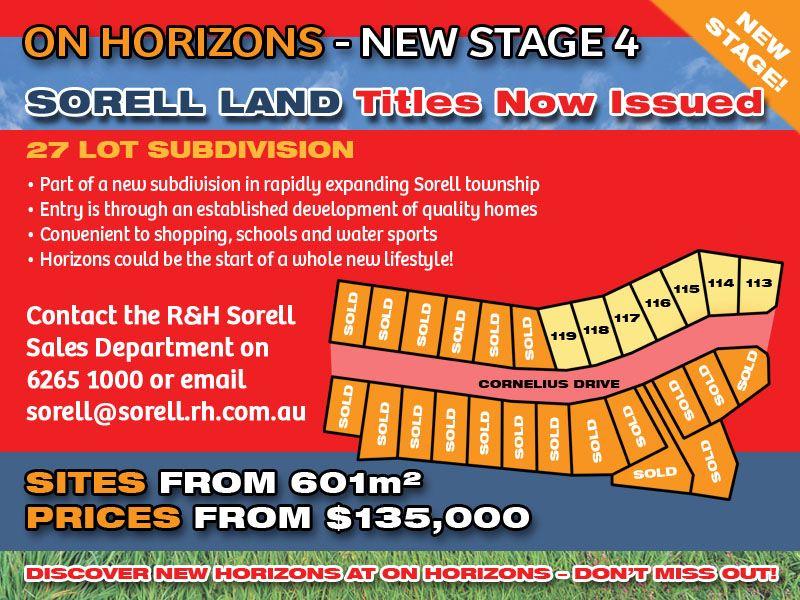 Lot 116 'On Horizons', Cornelius Drive, Sorell TAS 7172, Image 0
