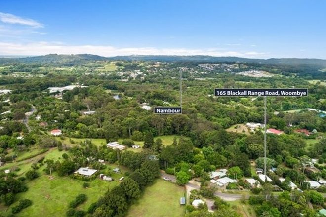 Picture of 165 Blackall Range Road, WEST WOOMBYE QLD 4559