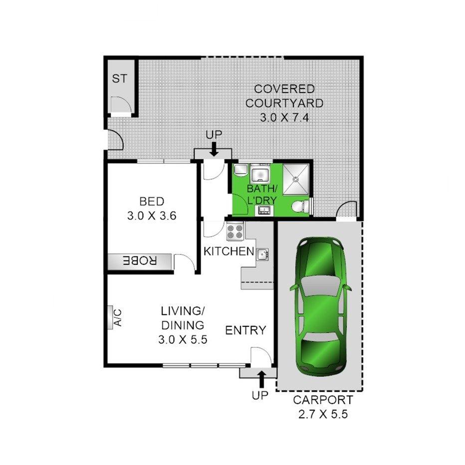 1/14-16 Lindsay Street, Newcomb VIC 3219, Image 1
