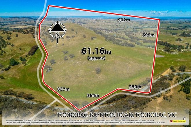 Picture of 410 Tooborac-Baynton Rd, TOOBORAC VIC 3522