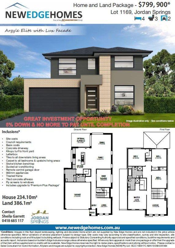Lot 1169 Proposed Road, Jordan Springs NSW 2747, Image 1