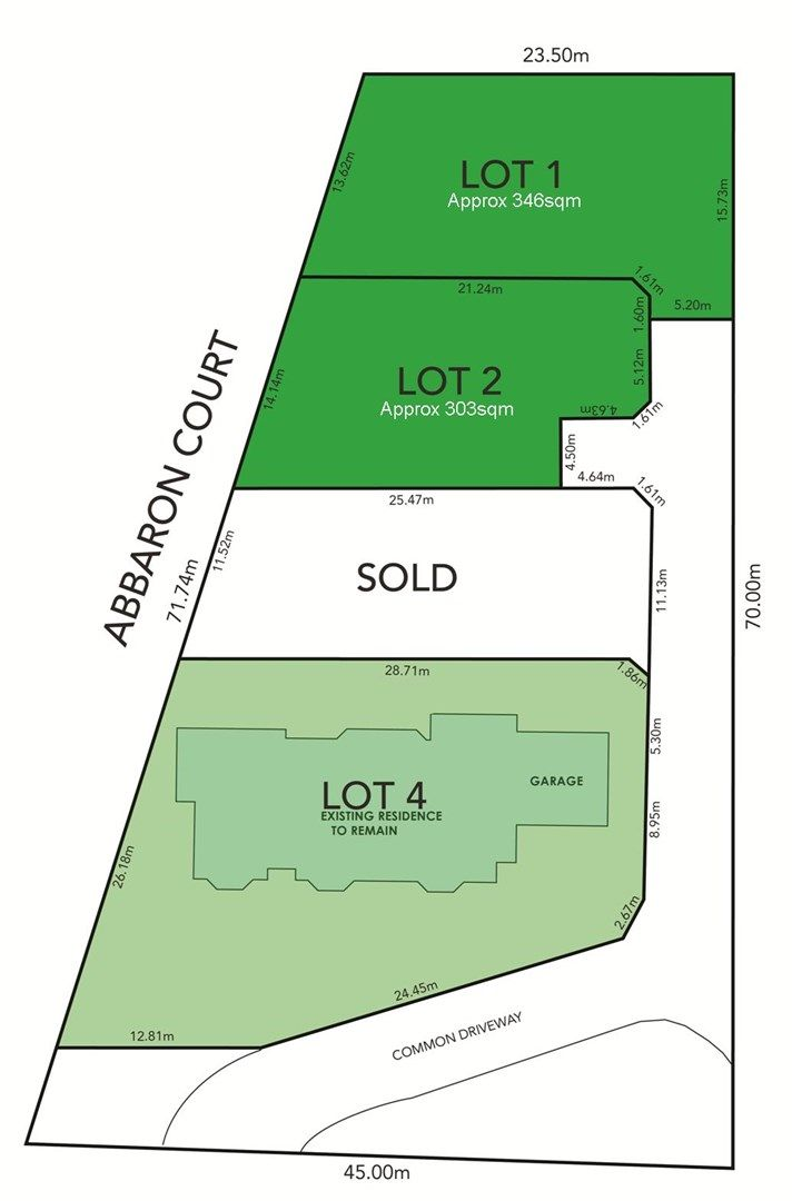 Lot 1 & 2, 4 Abbaron Court, Aberfoyle Park SA 5159, Image 0