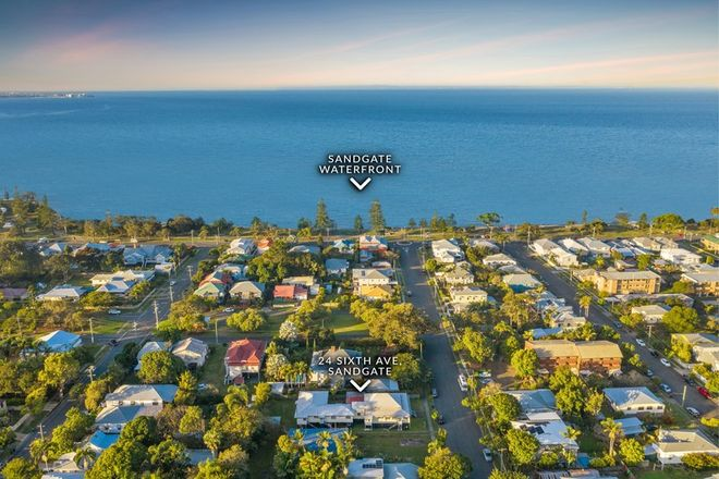 Picture of 24 Sixth Avenue, SANDGATE QLD 4017