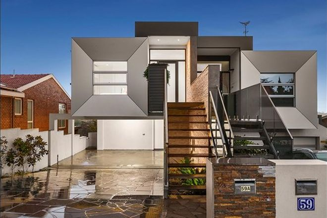 Picture of 59A Clifton Street, ABERFELDIE VIC 3040