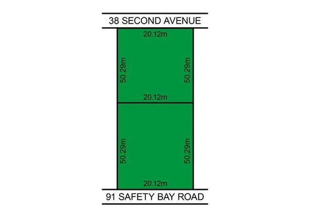 Picture of 38 Second Avenue, SHOALWATER WA 6169