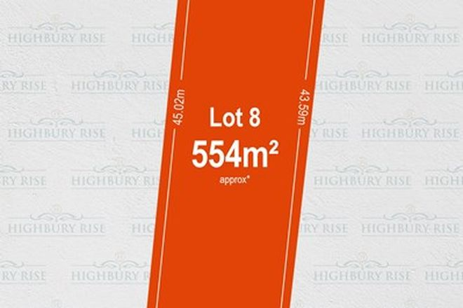 Picture of Lot 8, 1113 Lower North East Road, HIGHBURY SA 5089