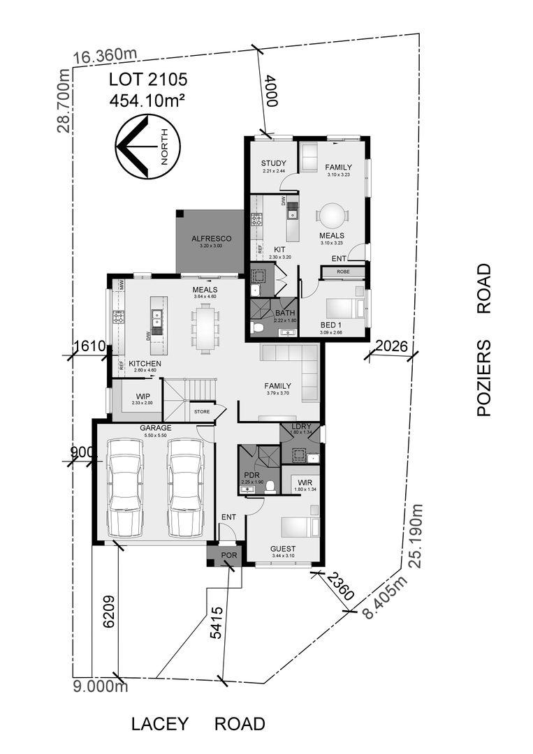 Lot 2105 Lacey Road, Edmondson Park NSW 2174, Image 2