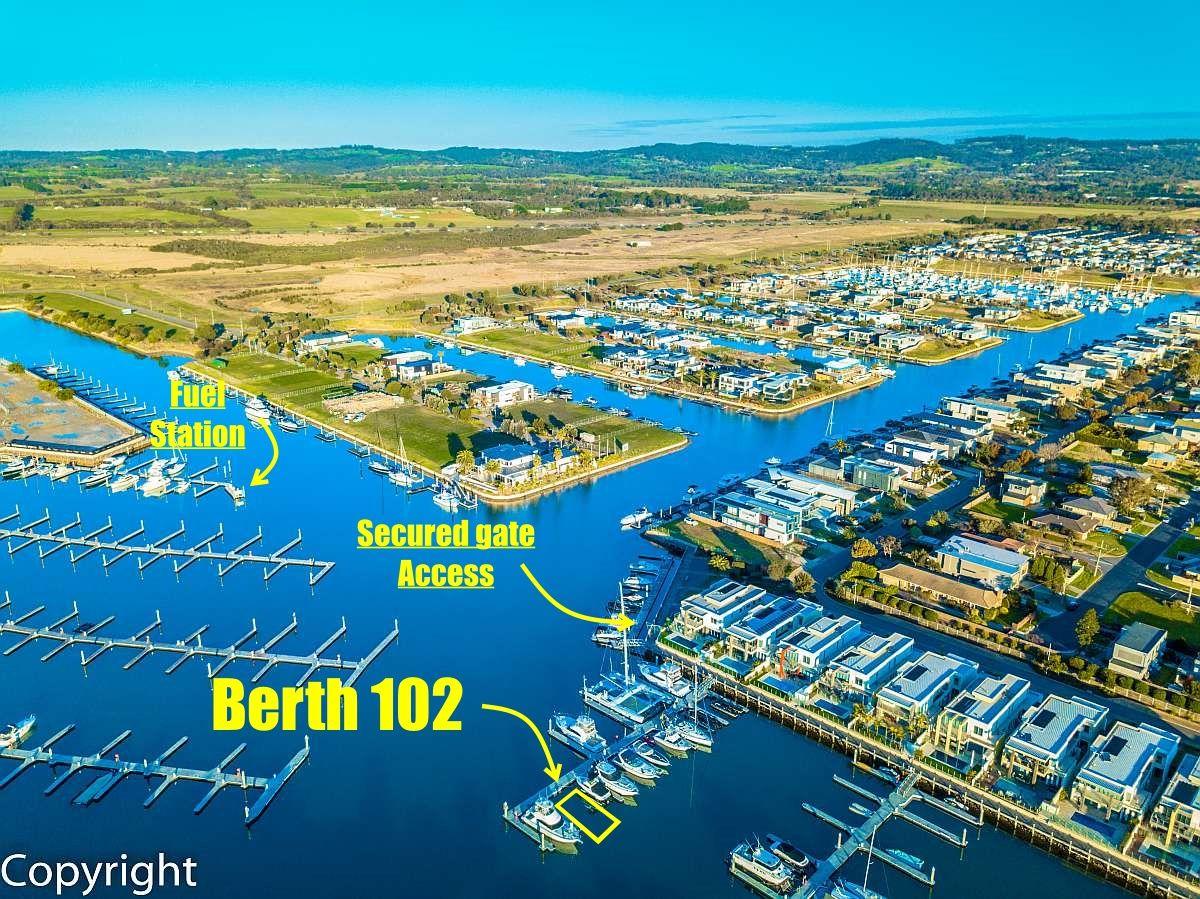 Berth Lot 102 Martha Cove Waterway, Safety Beach VIC 3936, Image 1