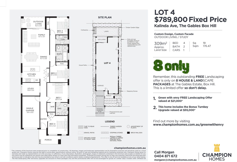 Lot 4 Kalinda Ave, The Gables, Box Hill NSW 2765, Image 1