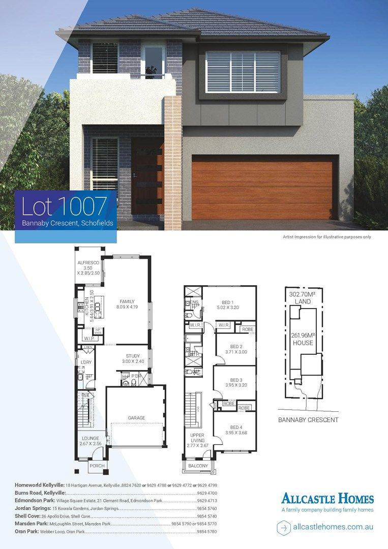 Lot 1007 Bannaby Crescent, Schofields NSW 2762, Image 1