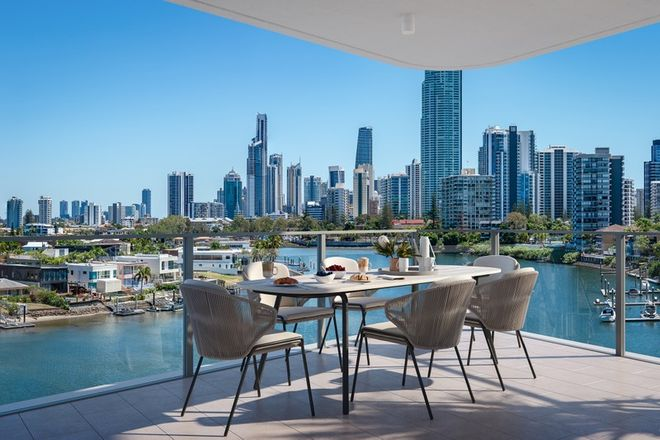 Picture of 1402/1 (One Cannes) Cannes Avenue, SURFERS PARADISE QLD 4217