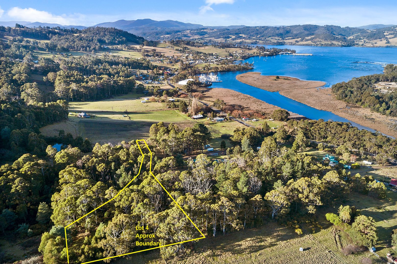 Lot 4 Evans Road, Port Huon TAS 7116, Image 0
