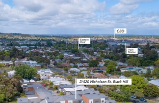 Picture of 2/420 Nicholson Street, Black Hill VIC 3350
