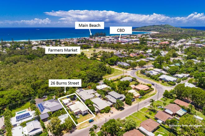 Picture of 26 Burns Street, BYRON BAY NSW 2481