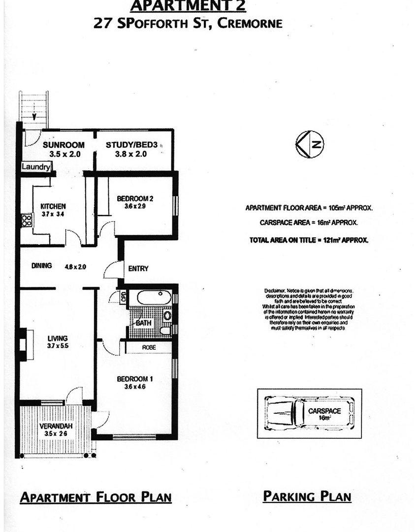 2/27 Spofforth  Street, Mosman NSW 2088, Image 9