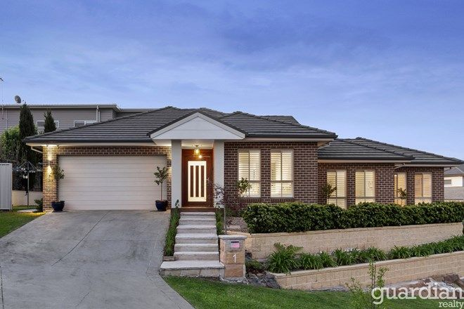 Picture of 1 Antrim Place, KELLYVILLE NSW 2155