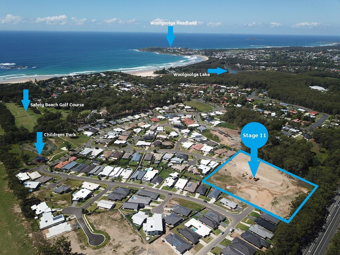 Lot 216 Admiralty Drive - Stage 11, Safety Beach NSW 2456, Image 2