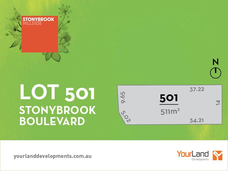 Lot 501 Stonybrook Boulevard, Hillside VIC 3037, Image 0