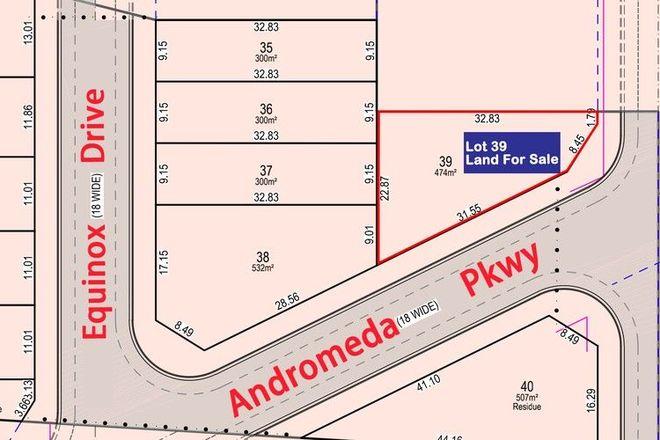 Picture of Lot 39 Andromeda Parkway, BOX HILL NSW 2765