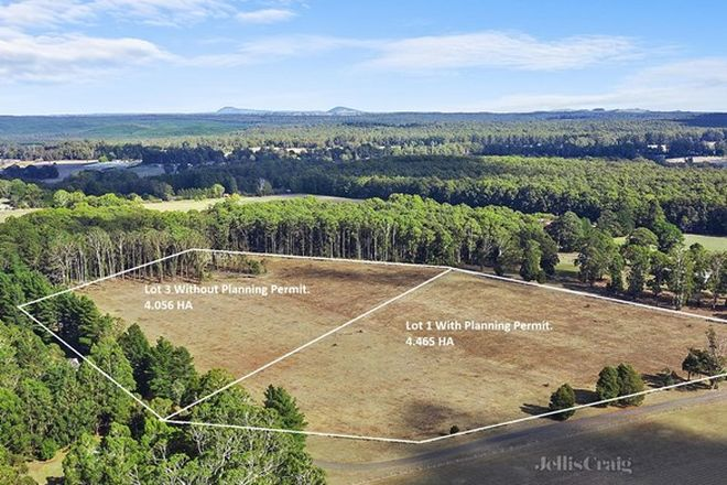 Picture of Lot/3 Mulgrew Road, KORWEINGUBOORA VIC 3461