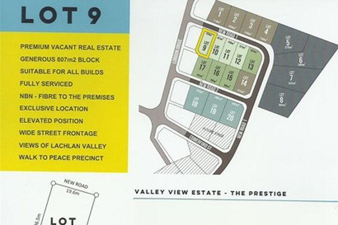 Picture of LOT 9 VALLEY VIEW ESTATE, COWRA NSW 2794