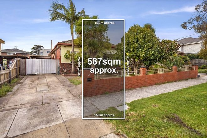 Picture of 4 Steele Street, CAULFIELD SOUTH VIC 3162