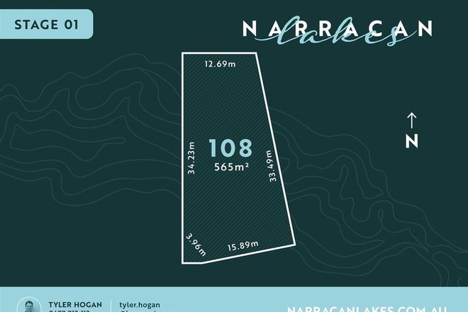 Picture of Lot 108 Narracan Lakes, NEWBOROUGH VIC 3825