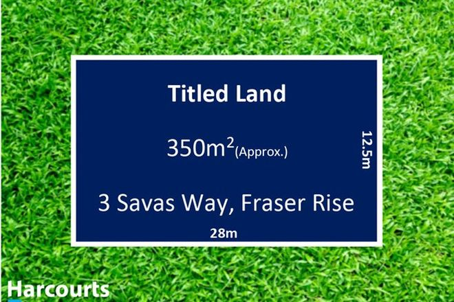 Picture of 3 Savas Way, FRASER RISE VIC 3336