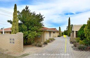 Picture of 4/45 Wilcock Avenue, Balcatta WA 6021