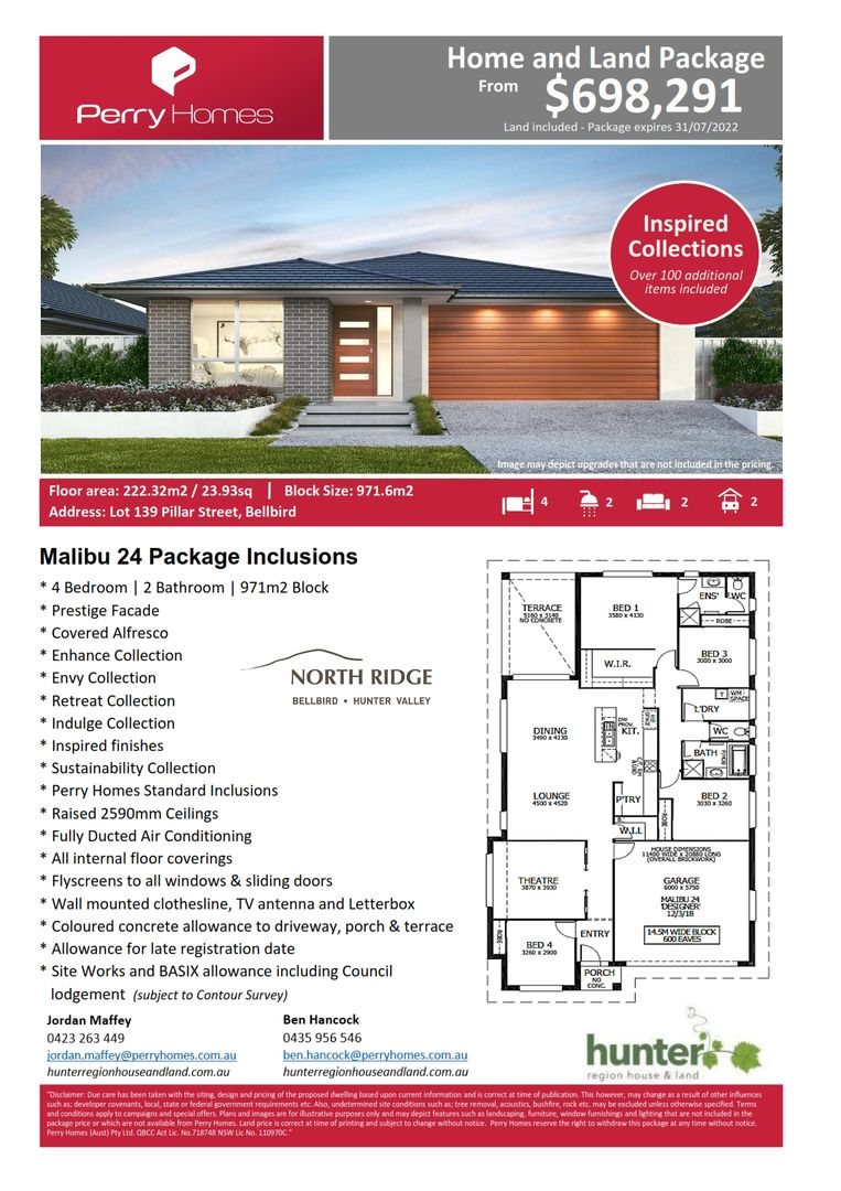 Lot 139 Pillar Street, Bellbird NSW 2325, Image 1
