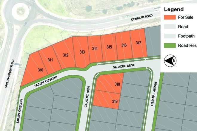 Picture of Lot 319 Galactic Drive, DUNMORE NSW 2529