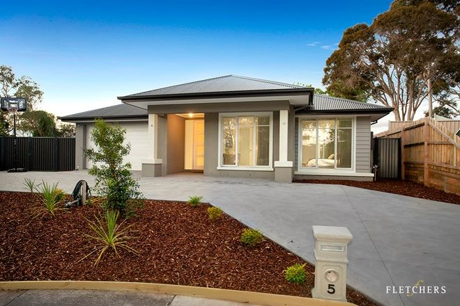 Picture of 5 Palmyra Court, GREENSBOROUGH VIC 3088