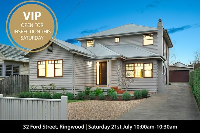 Picture of 32 Ford Street, RINGWOOD VIC 3134