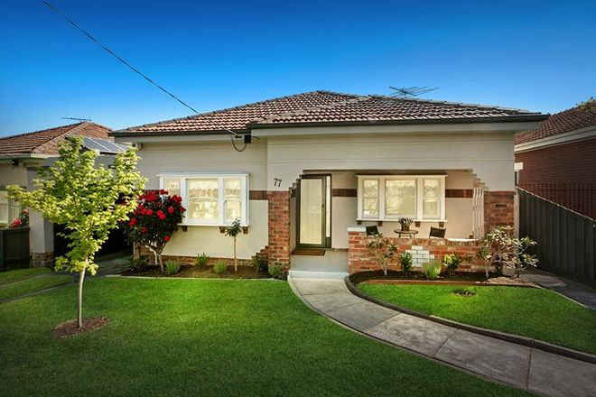 Picture of 77 Melville Road, PASCOE VALE SOUTH VIC 3044