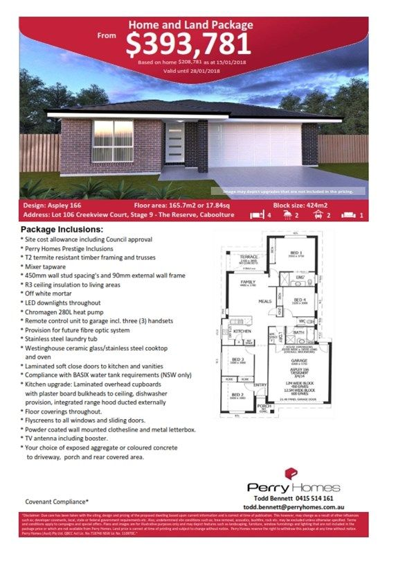 Lot 106 Creekview Court, Stage 9 The Reserve, Caboolture QLD 4510, Image 1
