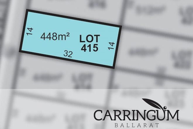 Picture of Carringum/Lot 415 Kite Street, WINTER VALLEY VIC 3358