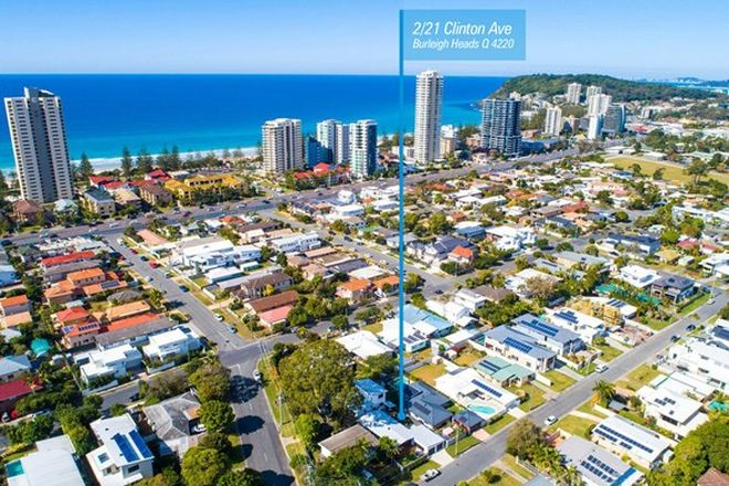 Picture of 2/21 Clinton Avenue, BURLEIGH WATERS QLD 4220