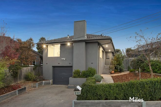 Picture of 212 Elder Street, GREENSBOROUGH VIC 3088