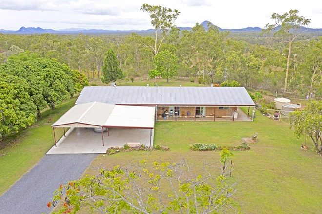 Picture of 75 Bells Road, MOUNT CHALMERS QLD 4702