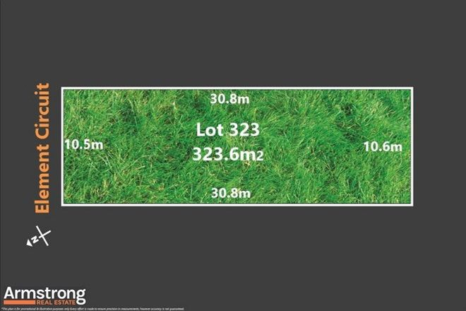 Picture of Lot 323/11 Element Circuit, ARMSTRONG CREEK VIC 3217