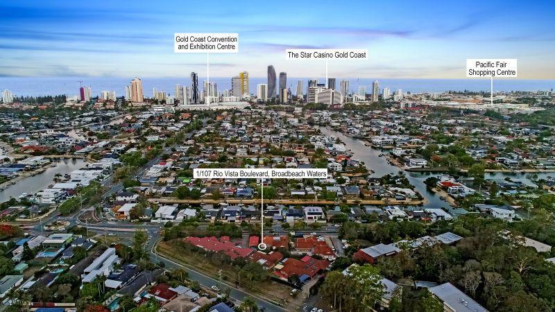 1/107 Rio Vista Boulevard, Broadbeach Waters QLD 4218, Image 0