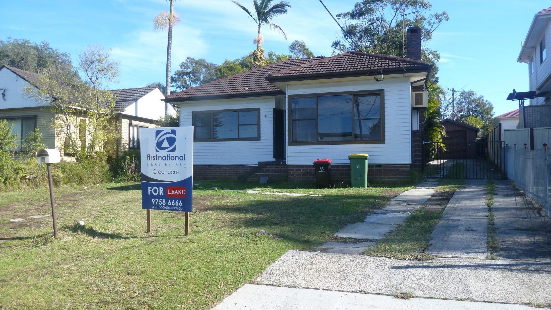 4 Rea Street, Greenacre NSW 2190, Image 0
