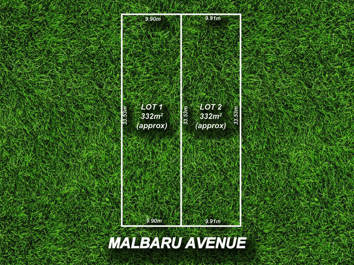 Lot 1 & 2/13 Malbaru Avenue, Ingle Farm SA 5098, Image 0