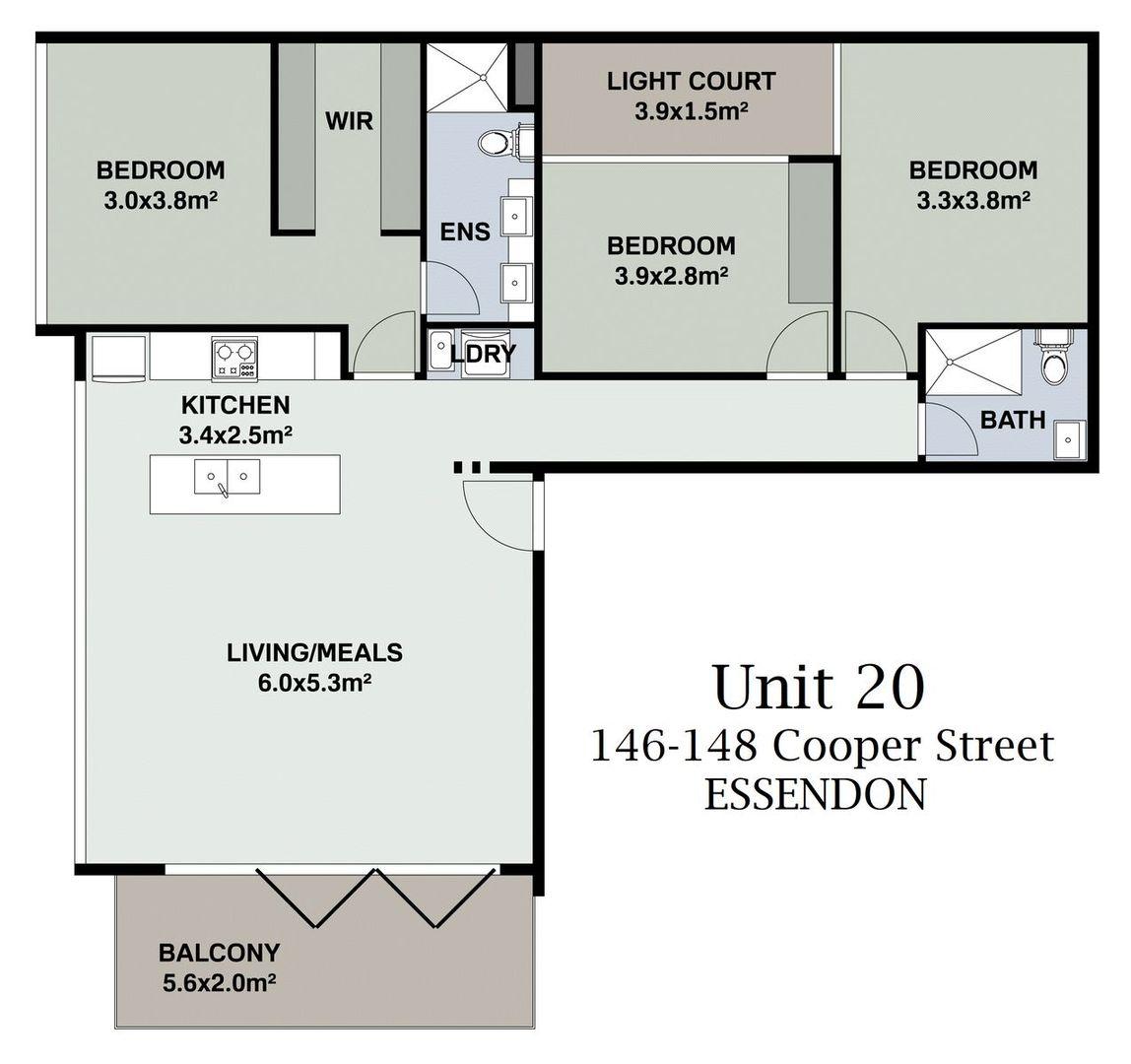 20/146-148 Cooper Street, Essendon VIC 3040