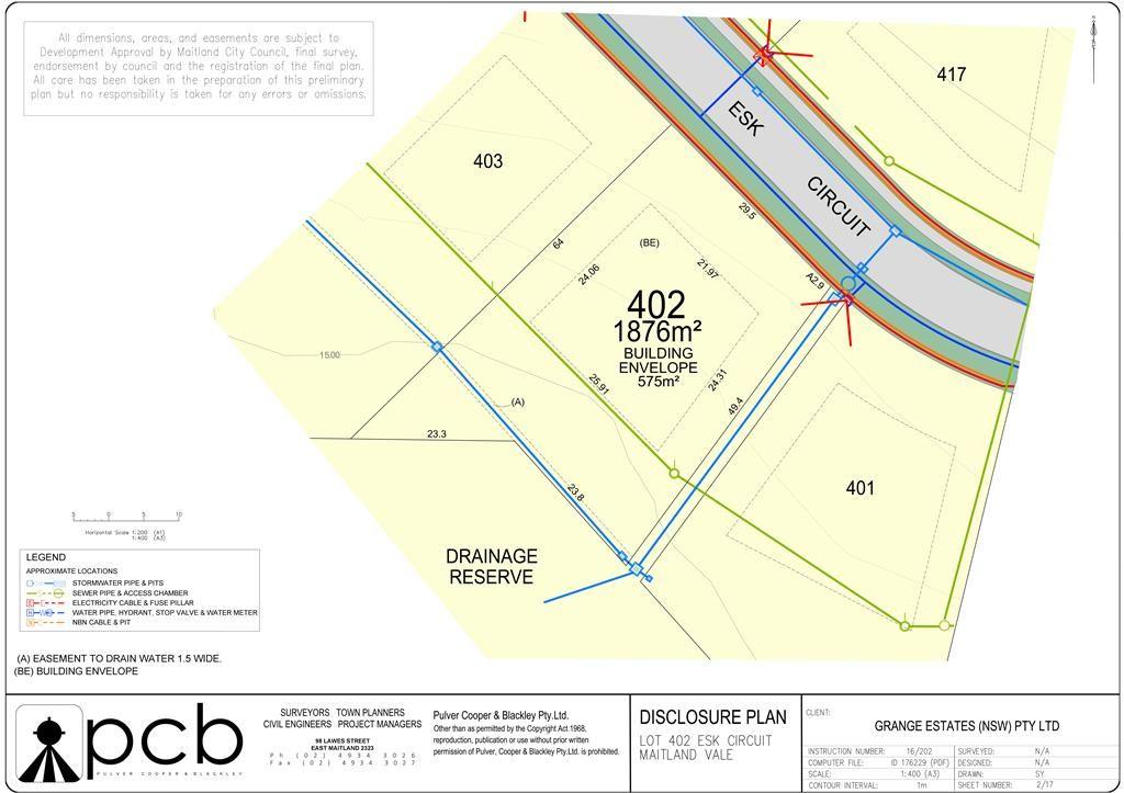 Lot 402 Maitland Vale Acreages, Maitland Vale NSW 2320, Image 0