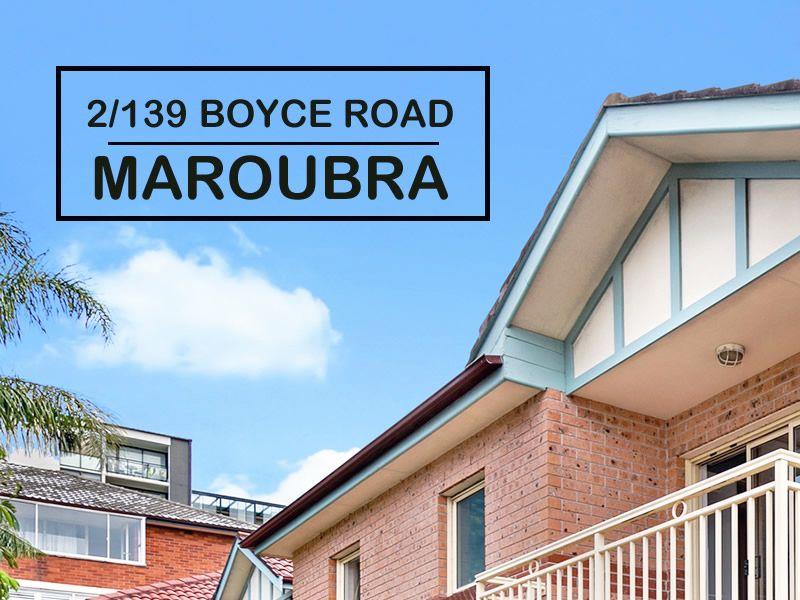 2/139 Boyce Road, Maroubra NSW 2035, Image 0