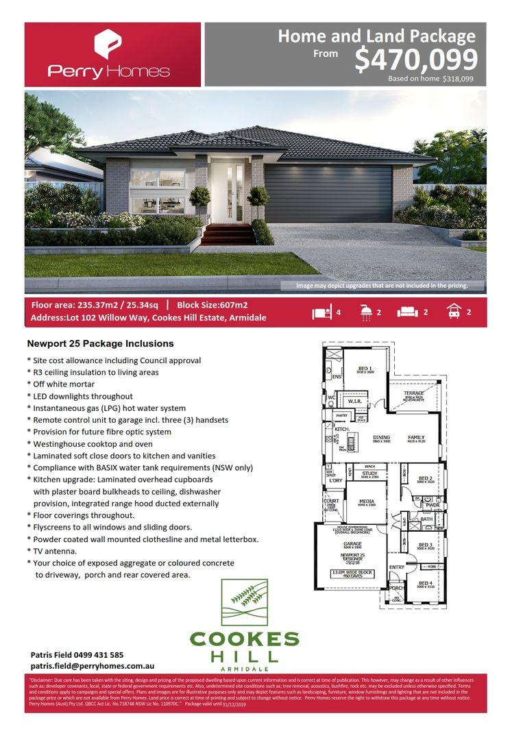 Lot 102 Willow Way, Armidale NSW 2350, Image 1